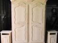 1 armoire normande en chêne