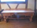 21 Bureau Louis XIV en vieux bois
