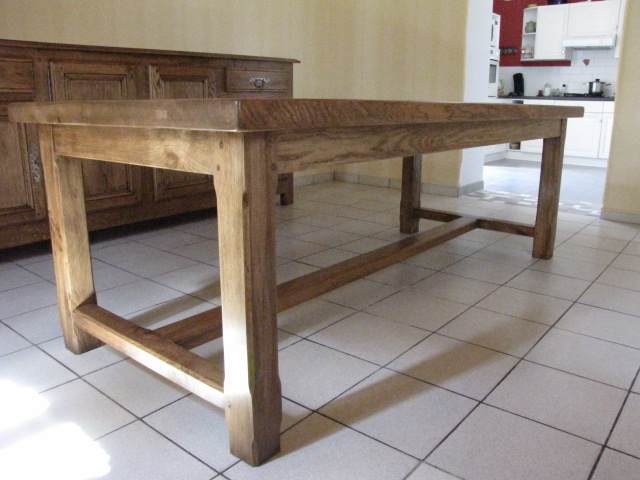 Table De Ferme Eb Nisterie Brune