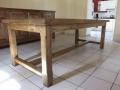 55 Table ferme en chêne
