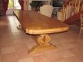 58 Table rustique en chêne